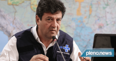 O ministro da Saúde, Luiz Henrique Mandetta, criticou a cobertura da imprensa sobre a pandemia global de Covid-19