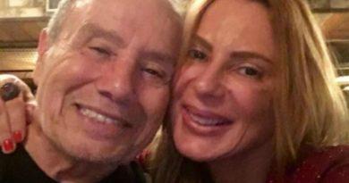 """Esposa de Stenio Garcia diz: """"É covardia fazer isso com uma pessoa de 90 anos""""."""
