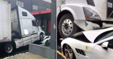 Homem destrói Ferrari de R$1,6 milhão do patrão após ser demitido e é duramente punido.