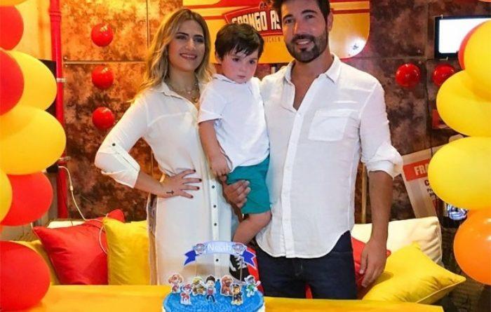Chega ao fim o casamento da filha de Leonardo, Jéssica Costa e Sandro Pedroso