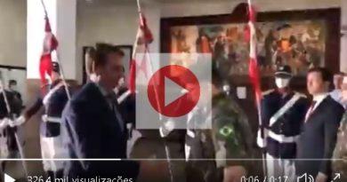 Vídeo | Militares se recusam
