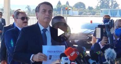Vídeo | Bolsonaro censurou
