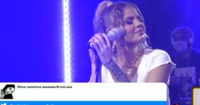 Luisa Sonza chora ao cantar música feita para Whindersson Nunes