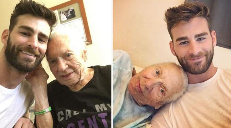 Jovem adota vizinha de 89 anos doente e sem família e leva para sua casa