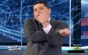 """Datena assume que vai disputar às próximas eleições e dispara: """"Um ladrão a menos"""""""