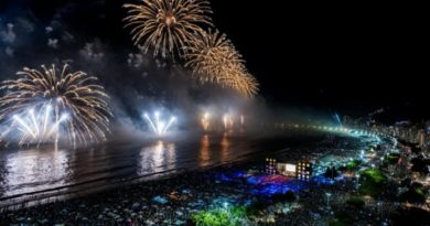 Rio de Janeiro não terá festa de Réveillon com queima de fogos e nem aglomeração em Copacabana