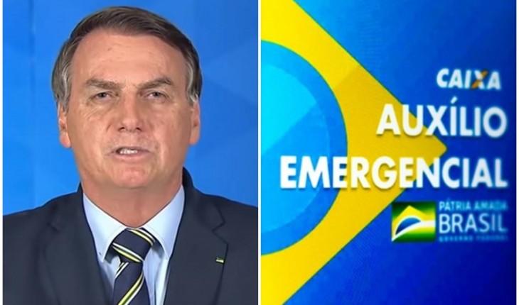 Bolsonaro veta projeto que prioriza pagamento de mãe e pais solteiros no auxílio emergencial.
