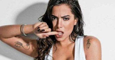 Ex-BBB Ariadna beija muito em balada com Anitta na Croácia