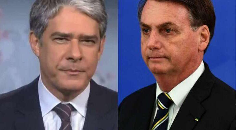 """Bonner fala sobre escândalo na Rede Globo e o presidente Bolsonaro debocha: """"esperando Fantástico"""""""