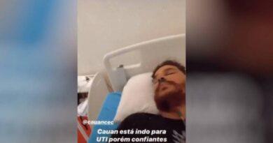 Na UTI, sertanejo Cauan, dupla de Cleber, tem piora em quadro clínico