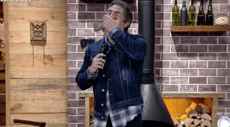 Marcos Mion chora ao vivo em 'A Fazenda'; Confira o motivo!