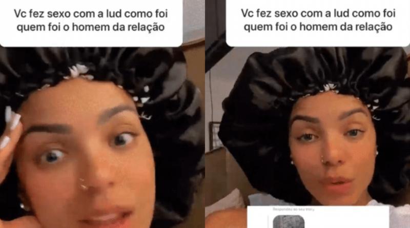 Mulher de Ludmilla rebate seguidora que perguntou 'quem é o homem da relação'