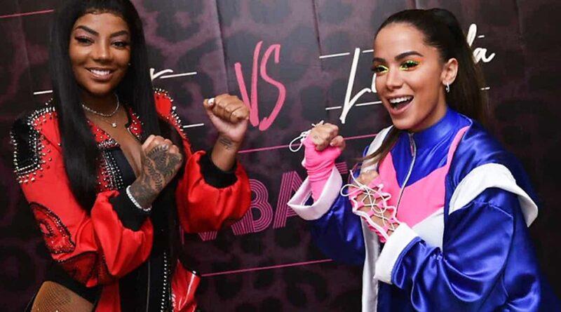 Ludmilla grava clipe na Rocinha com poderosas do funk, mas descartou presença de Anitta