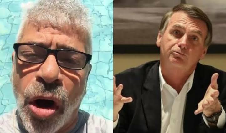 Lulu Santos se irrita com Bolsonaro e manda recado: 'minha vontade era encher sua boca na porrada em dobro'.