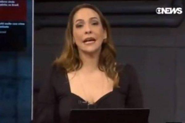 Maria Beltrão emociona ao anunciar vacina contra Covid-19 na GloboNews