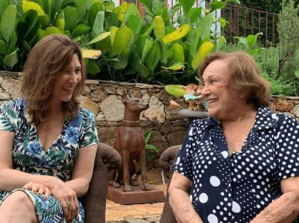 O triste relado de Beth Goulart sobre a mãe Nicette Bruno