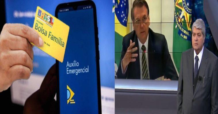 Após forte pressão, Bolsonaro faz novo pronunciamento sobre a prorrogação do auxílio emergencial em 2021