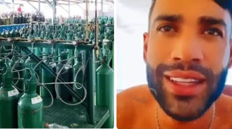 Gusttavo Lima se pronuncia sobre doação de oxigênio para Manaus