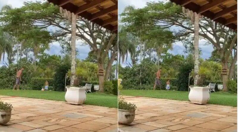 """Esposa de Livinho posta vídeo e diz que MC """"passou por um livramento"""""""