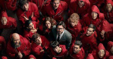 La Casa de Papel está cancelada pela Netflix; confira motivo