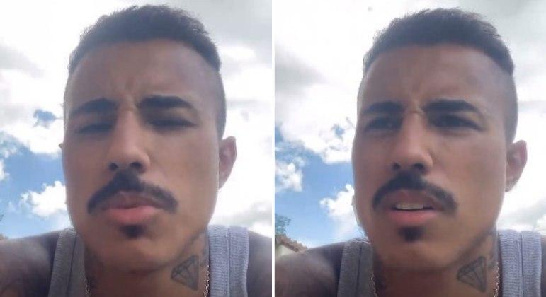 Livinho fala pela 1ª vez após vídeo pedindo ajuda: 'Fui perseguido'