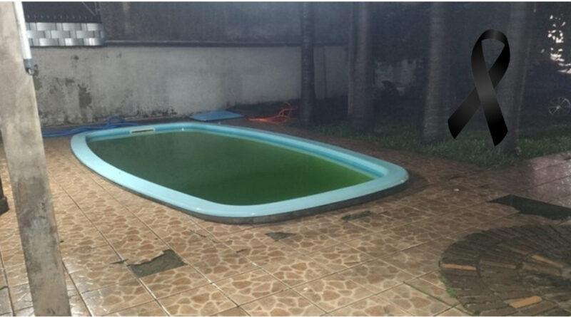 Bebê de apenas 1 ano e 4 meses morre afogado na piscina de casa e deixa a família toda arrasada