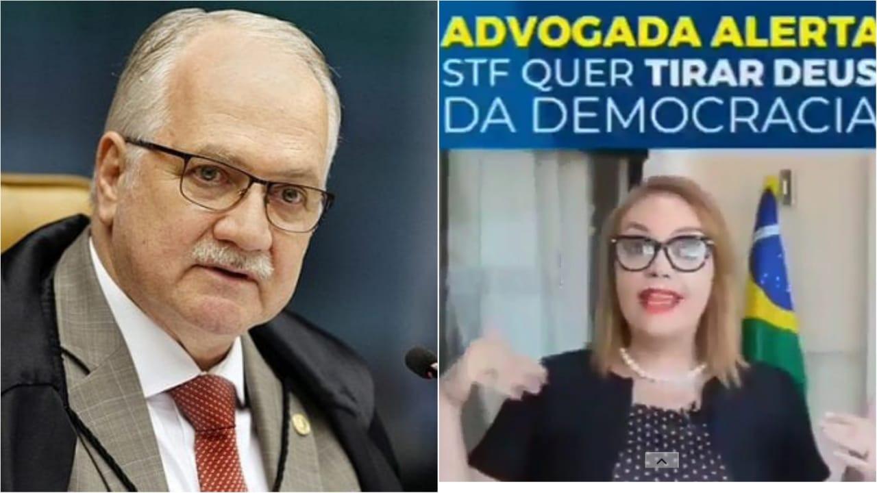 """Fachin propõe que políticos religiosos tenham os mandatos cassados: """"Igrejas se preparem porque haverá apertos e perseguição religiosa. Tirar Deus da democracia brasileira"""", diz advogada."""