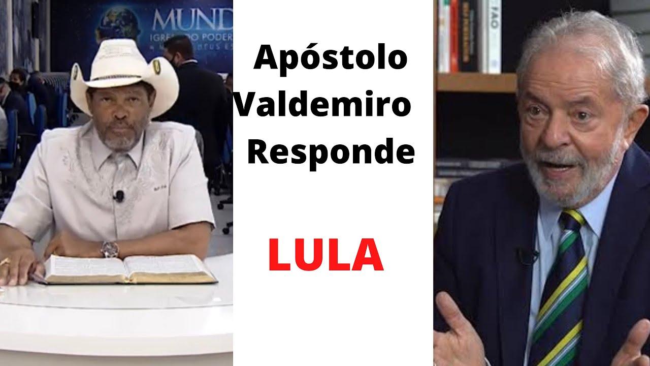 """Pastor Valdemiro Santiago manda duro recado para LULA: """"Lembra do seu câncer na garganta que EU CUREI? Você é safado e a sua arte é enganar!"""" – Vídeo"""