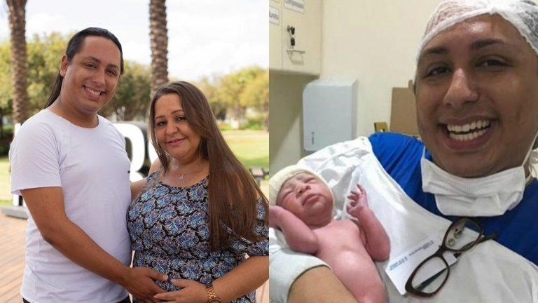 """Mulher de 46 anos engravida de gêmeos do próprio filho: """"Sonho"""""""