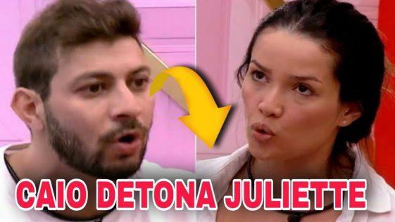 Fora do BBB21, Caio detona Juliette, diz que ela não ganha o reality e vídeo viraliza na web. Assista!