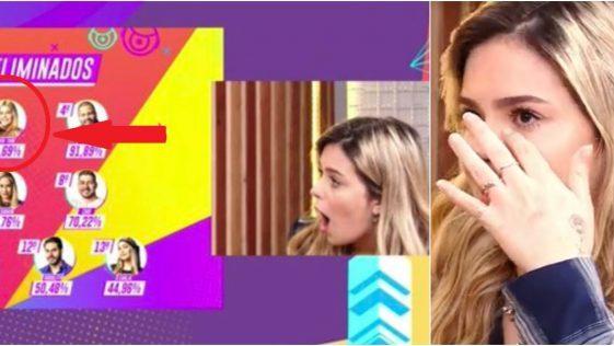 BBB 21: Ana Clara conta para Viih Tube que ela foi eliminada com 96,69% dos votos de rejeição e reação dela vira piada na web; Vídeo