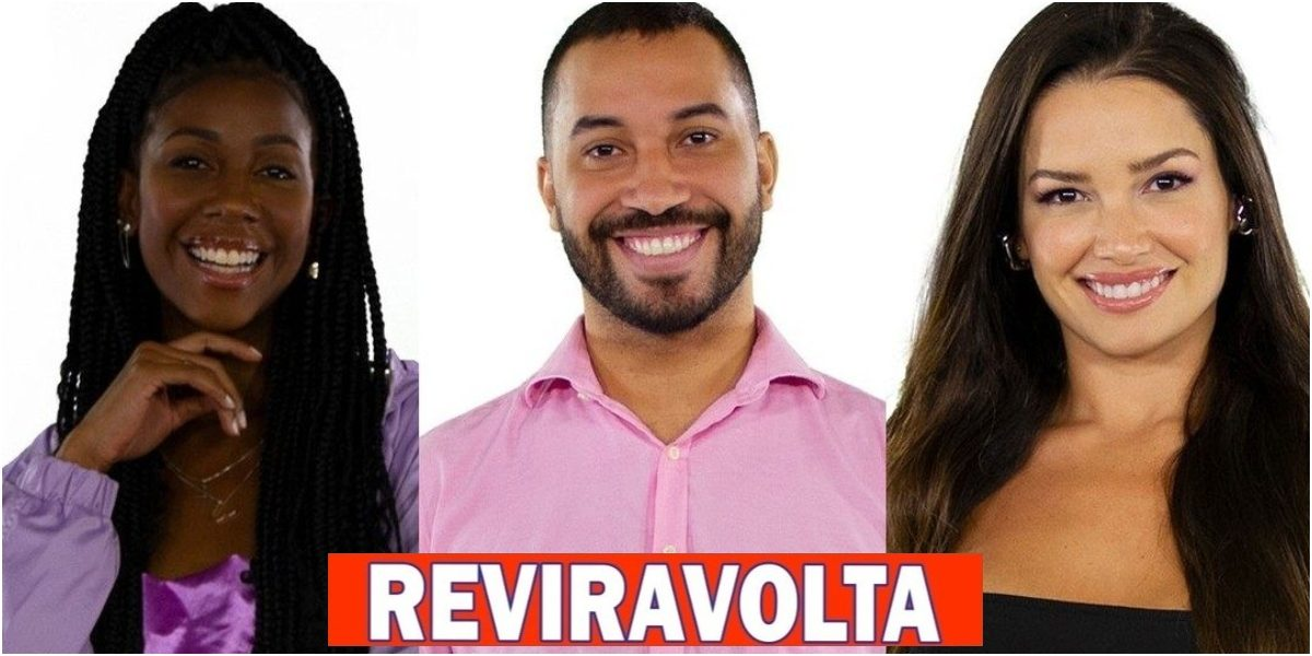 BBB 21: Enquete UOL mostra REVIRAVOLTA histórica e aponta quem sai entre Camilla, Gilberto e Juliette