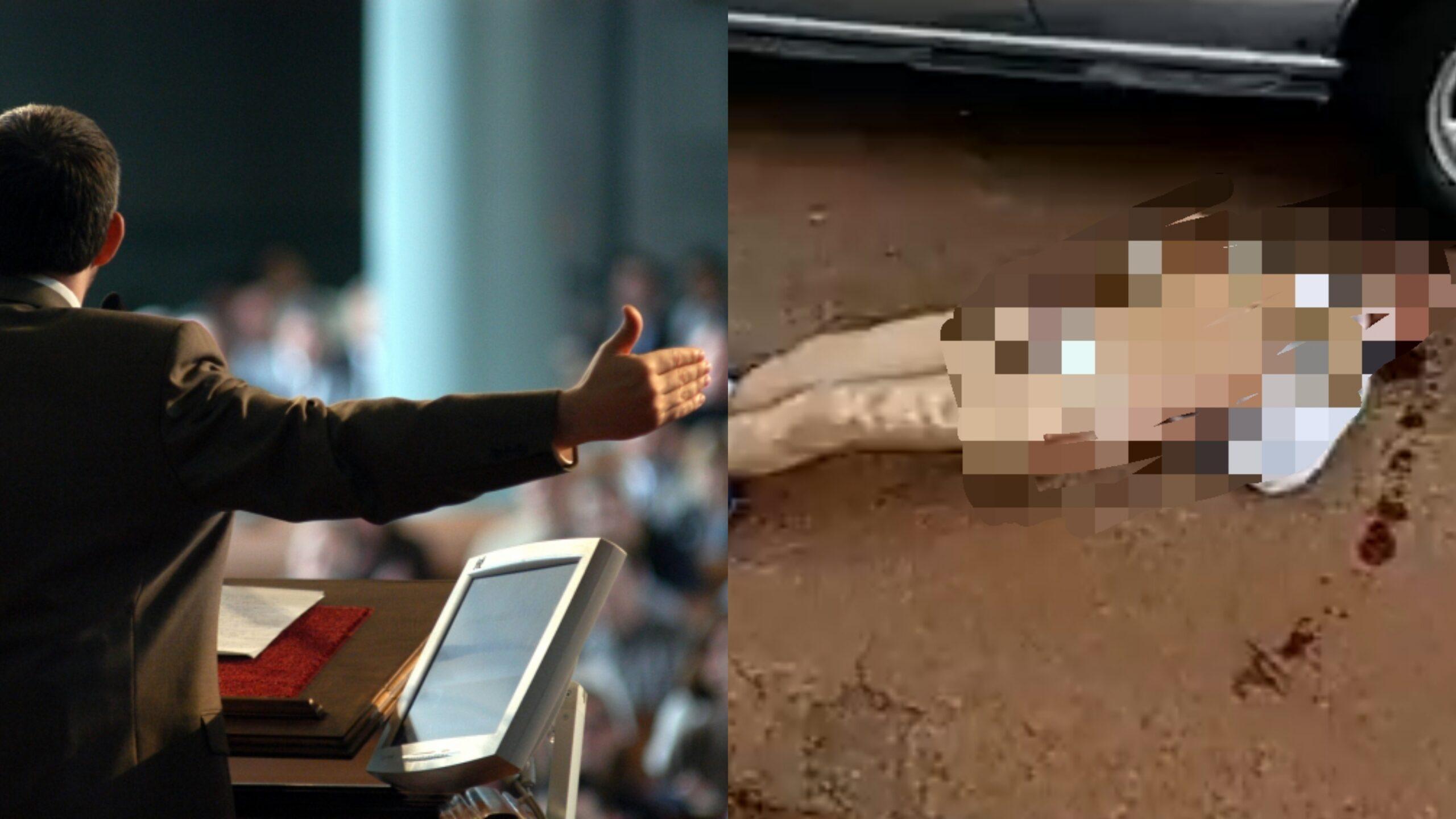 Vídeo: Pastor é flagrado se masturband0 vestido de calcinh4 dentro do carro e é brutalmente espancad0; Assista