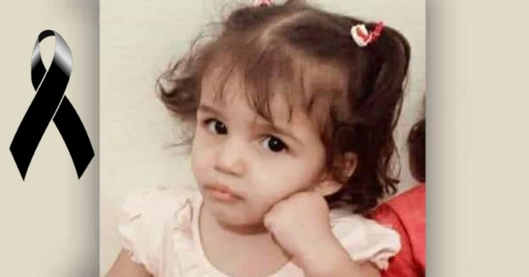 Menina de 3 anos vem a óbito após o pai forçá-la ficar dentro de banheira com água fervente