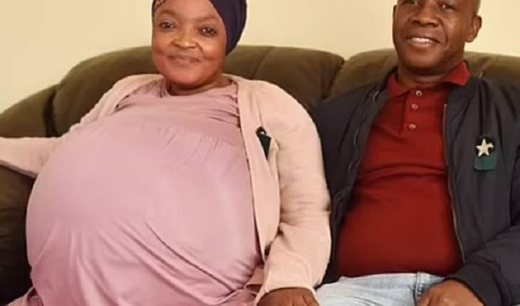 Mulher que deu à luz dez gêmeos é acusada de ser amante do pai dos bebês: 'Ele não me disse nada'
