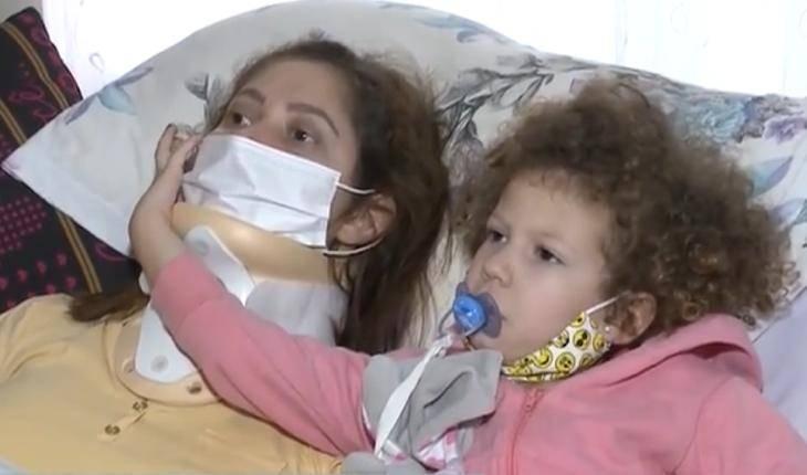 Mãe que deitou para dormir e acordou tetraplégica sonha em abraçar as filhas novamente: 'É muito difícil'