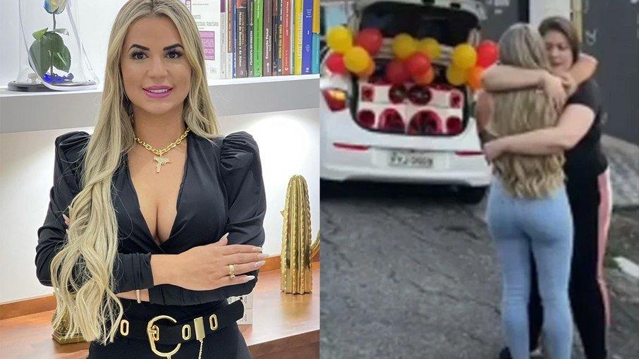 Surpresa que Deolane Bezerra, viúva de MC Kevin recebeu do cantor no Dia dos Namorados foi ARMADO por ela, diz colunista