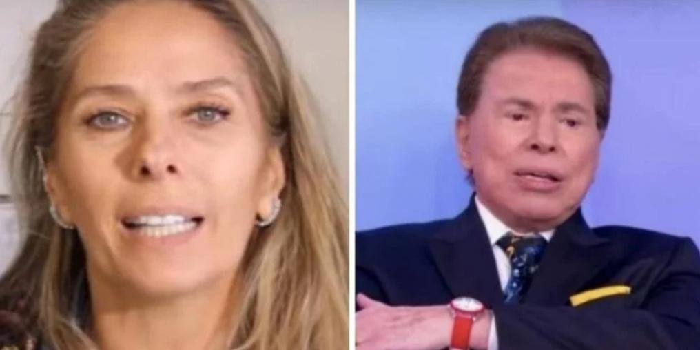 """Adriane Galisteu expõe relação com Silvio Santos na época de SBT e conta: """"a gente discutiu muitas vezes"""""""