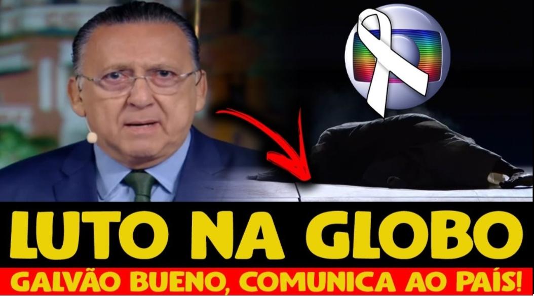 """LUTO! M0rte avassaladora é anunciada ao vivo na Globo em Olimpíadas e Galvão Bueno desaba: """"Momento tão dificil"""""""