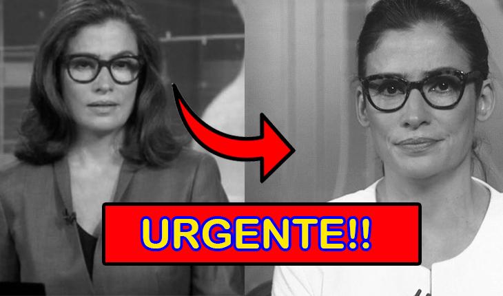 Urgente!! Após TRÁGICA notícia Renata Vasconcellos é afastada do JN; detalhes impressionam público