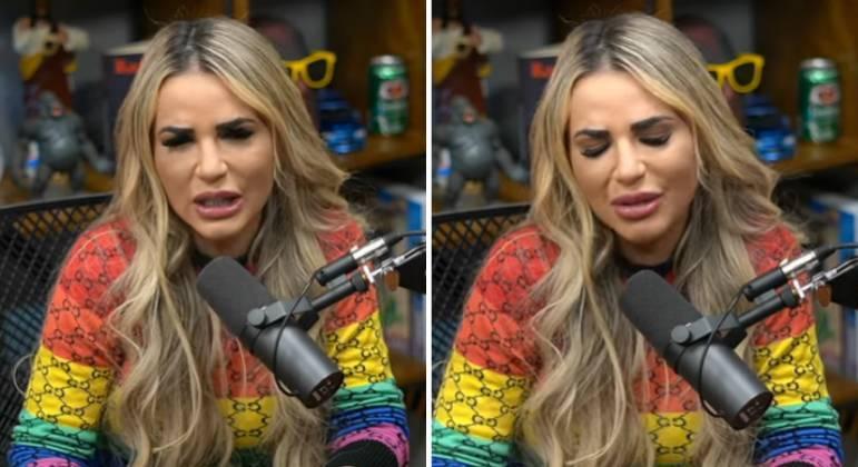 """Deolane chora ao falar de MC Kevin e faz revelação bombástica sobre traição """"minha virtude"""""""
