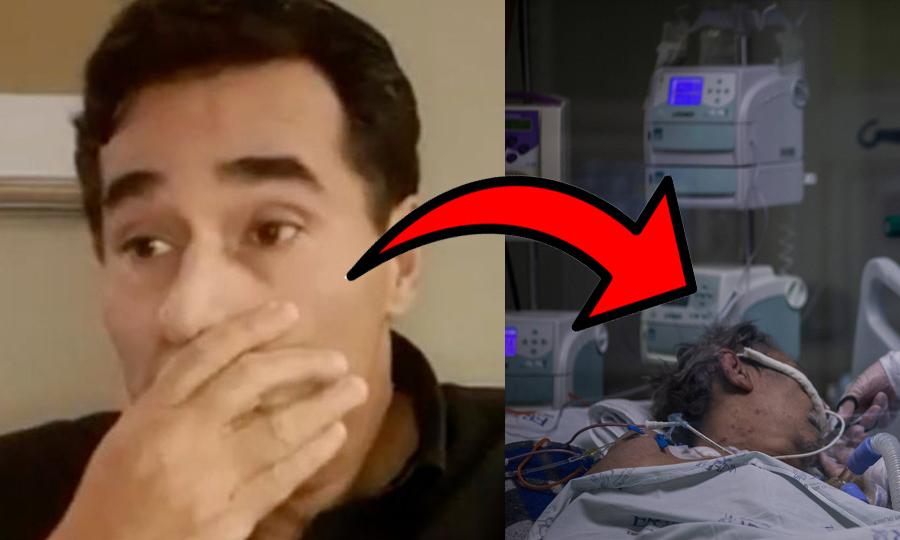 Após receber alta, Luciano Szafir revela detalhes assustadores de sua intubação; veja o vídeo
