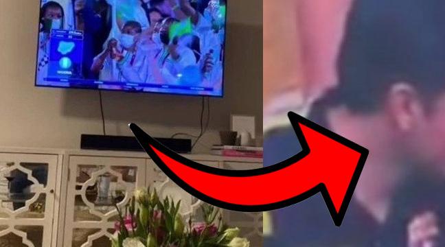 Bizarro! Mulher descobre traição durante abertura dos jogos Olímpicos; vídeo