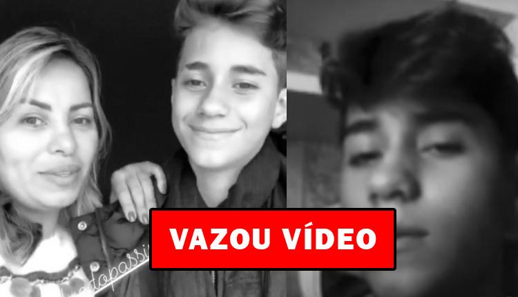 """Urgente!! Vaza vídeo que filho da cantora Walkyrian publicou antes de tirar própria vida """"Meu Deus"""""""