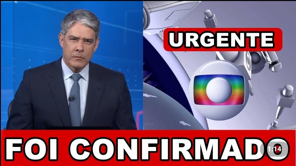 """Willian Bonner entra as pressas e ao vivo e traz notícia tão aguardada por todos nós brasileiros: """"Foi confirmado"""""""