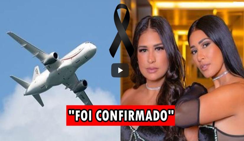 """URGENTE: Avião cai em SP e notícia sobre Simone e Simaria preocupa fãs: """"MEU DEUS, ELAS NÃO"""" ASSISTA AO VÍDEO"""