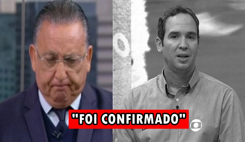 """URGENTE: Cabe a Galvão Bueno dar notícia sobre Caio Ribeiro, após luta contra o câncer """"Infelizmente Foi Confirmado"""""""