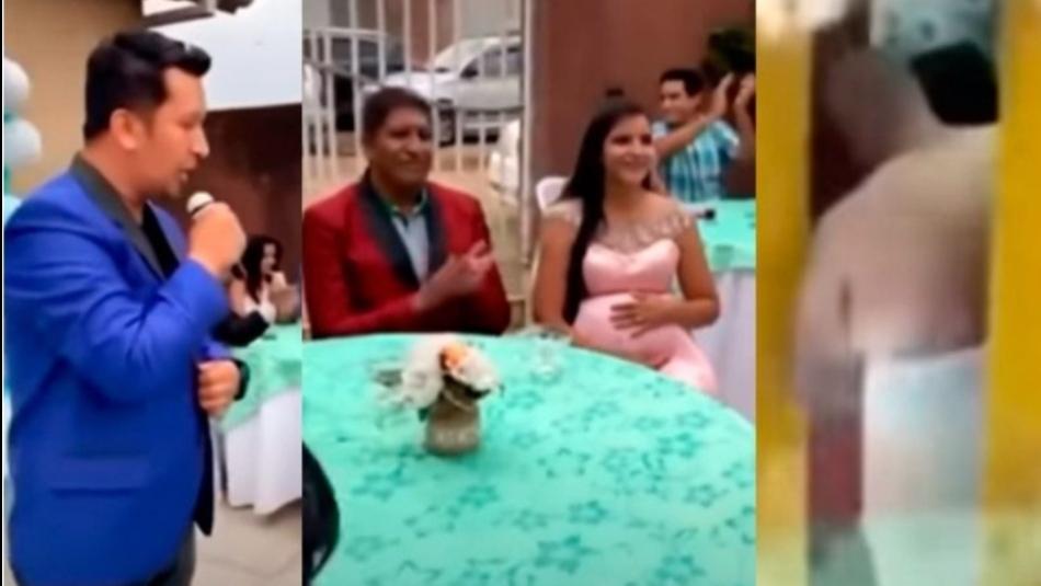 Marido expõe traição de sua mulher durante chá de bebê com vídeo no telão. Assista!