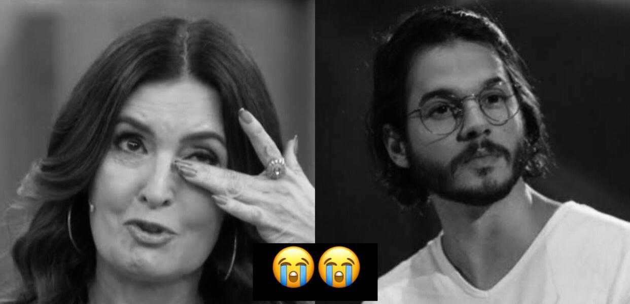 Do hospital após cirurgia, Coube ao namorado Túlio Gadelha dar notícia sobre Fátima Bernardes ao Brasil. 'Infelizmente aconteceu'