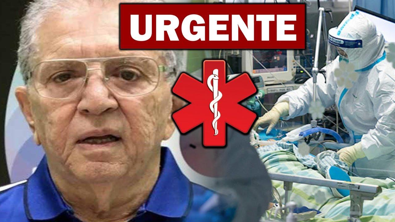 """URGENTE: FOI CONFIRMADO AGORA HÁ POUCO triste notícia sobre o Apresentador Carlos Alberto de Nóbrega aos 85 anos """"Descanse"""""""